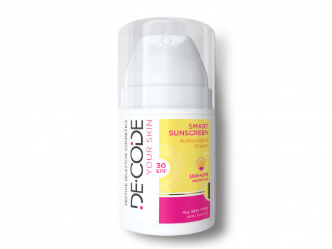 Солнцезащитный антиоксидантный крем SMART SUNSCREEN SPF 30